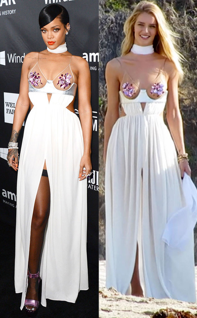 Rihanna, Rosie Huntington-Whiteley, Bitch Stole My Look