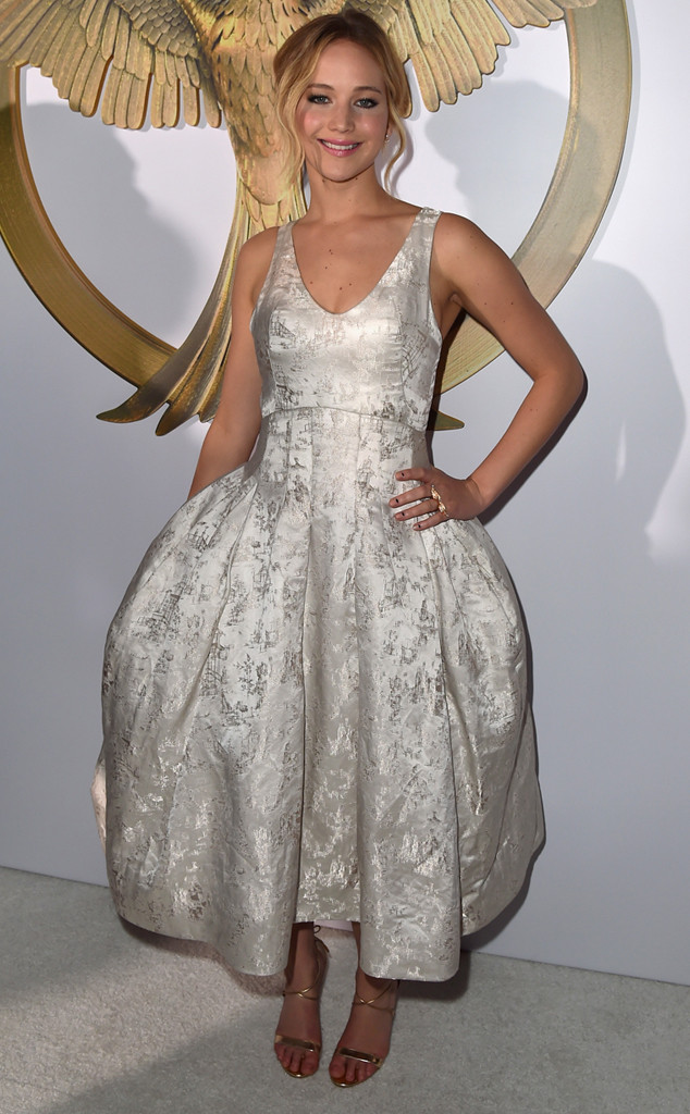 Jennifer Lawrence, Mockingjay Premiere