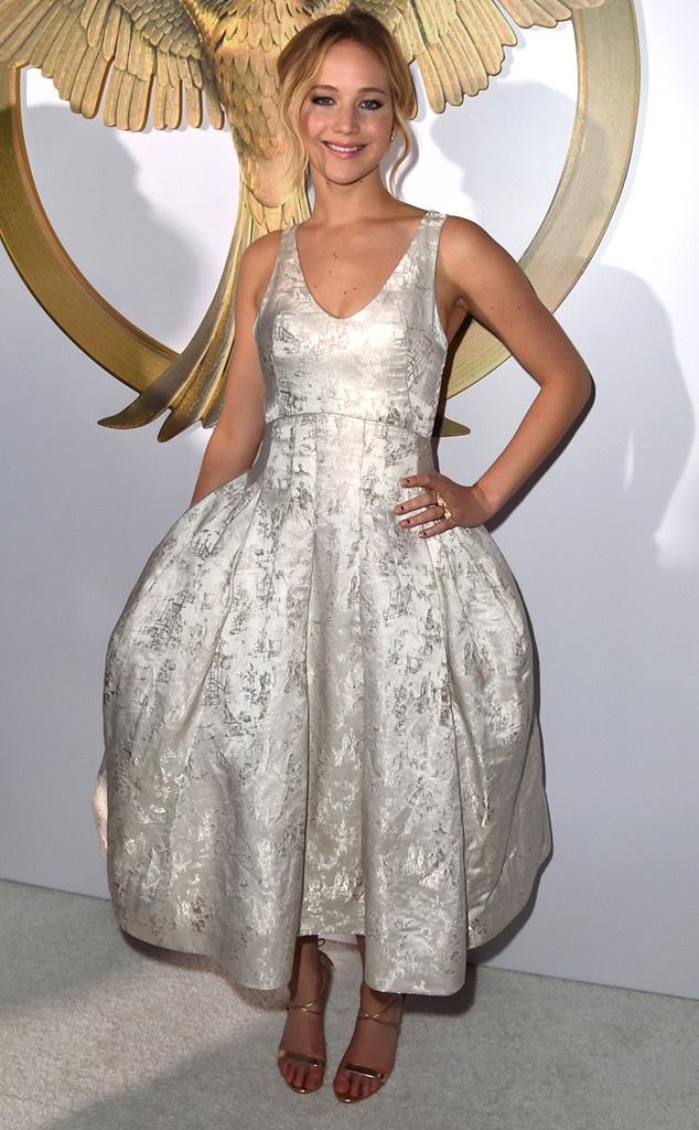 Jennifer Lawrence, Mockingjay Premiere, 2014, Widget