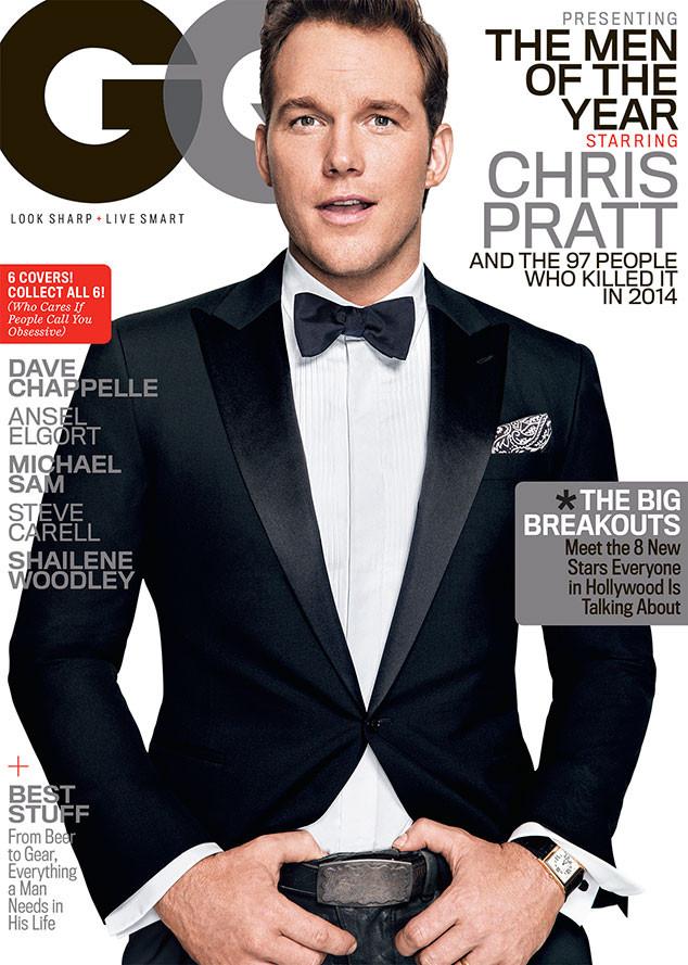 Chris Pratt, GQ Magazine