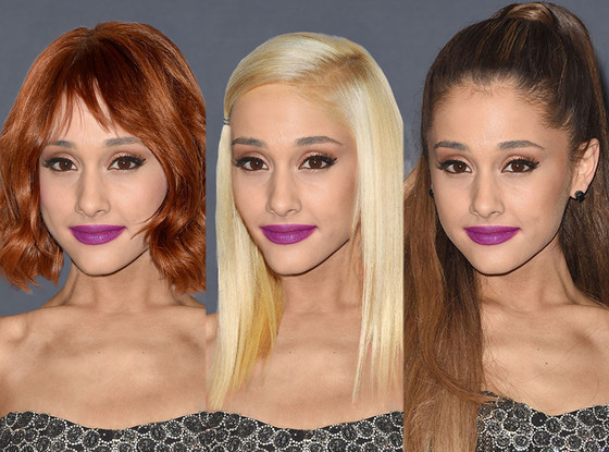 See The Singer S Latest Hair: No More Ponytail! See Ariana Grande With Other Stars