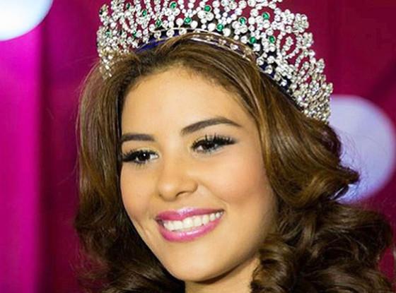 María José Alvarado Muñoz, Miss Honduras