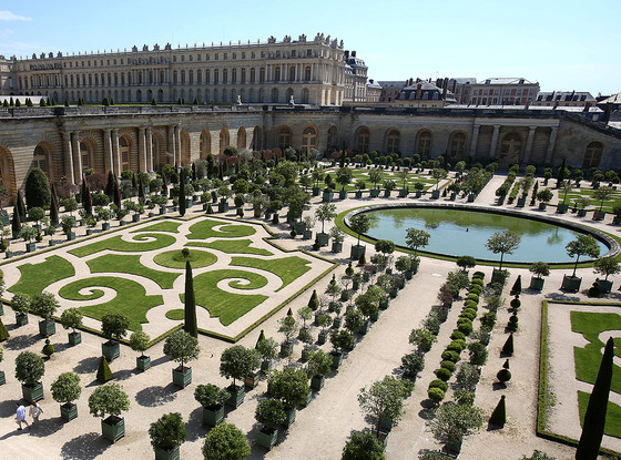 Palace of Versailles, Gardens of Versailles