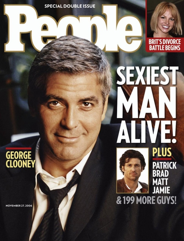Image result for george clooney sexiest man alive
