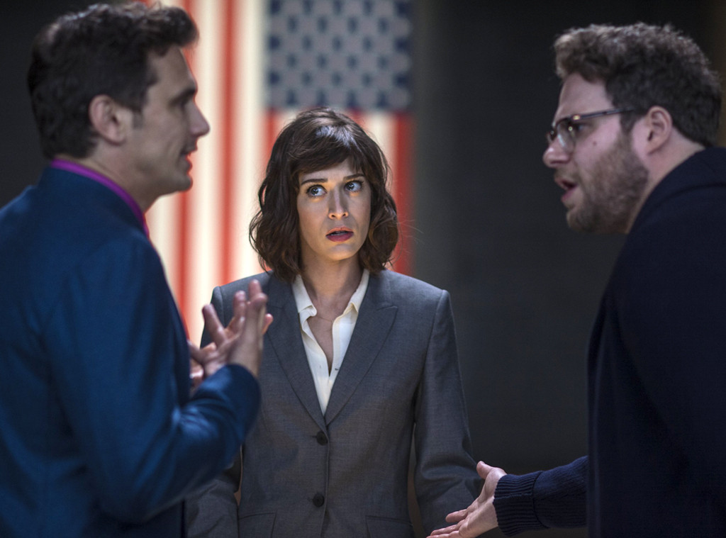 James Franco, Lizzy Caplan, Seth Rogen, The Interview