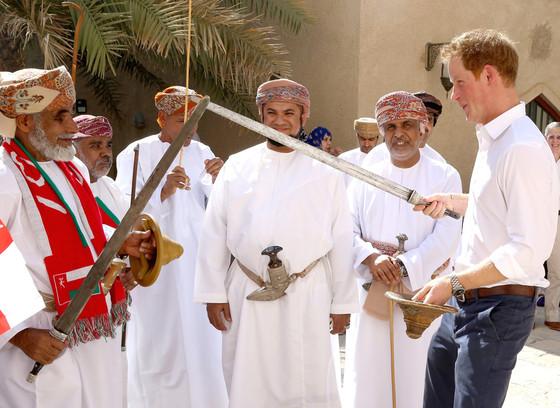 Prince Harry, Sword