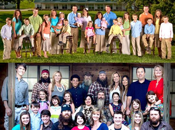 Duck Dynasty, 19 Kids, Duggar Family