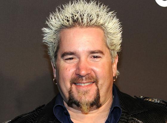 Guy Fieri Without His Blond Hair Will Blow Your Mind