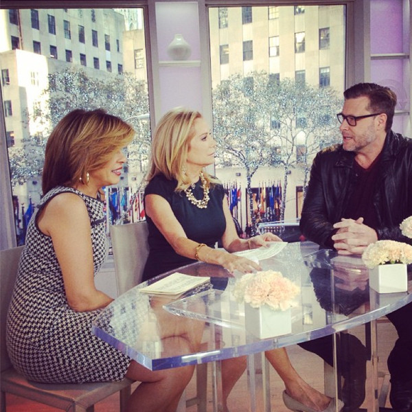 Dean McDermott, Kathy Lee and Hoda