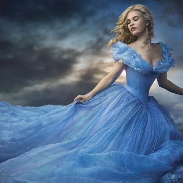 Lily James From Cinderella Movie Pics E News
