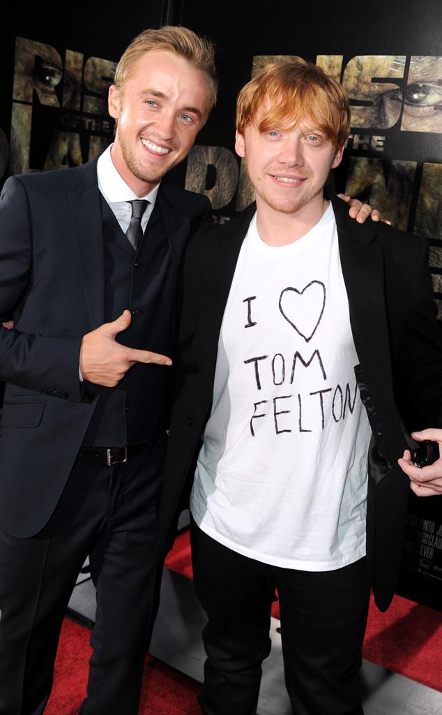Tom Felton, Rupert Grint