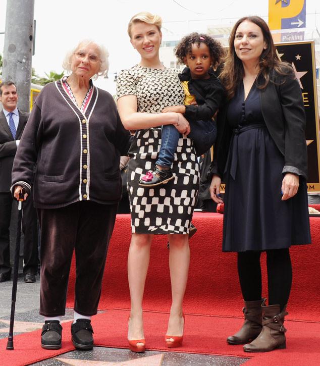 Scarlett Johansson, Grandmother, Sister Fenan, Mother Melanie Sloan
