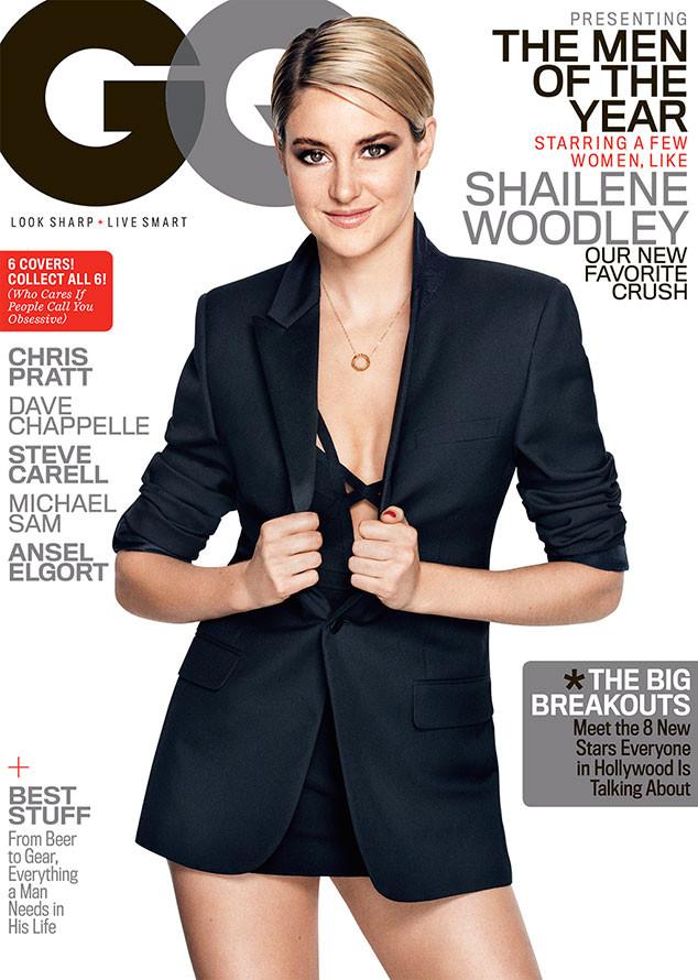 Shailene Woodley, GQ Men Of The Year