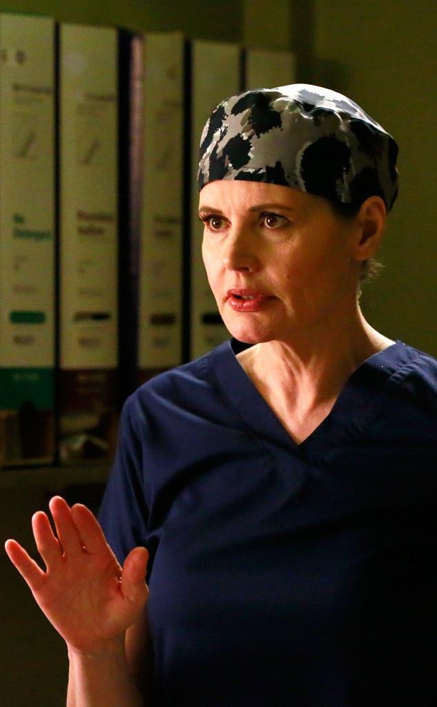 Greys Anatomy, Geena Davis