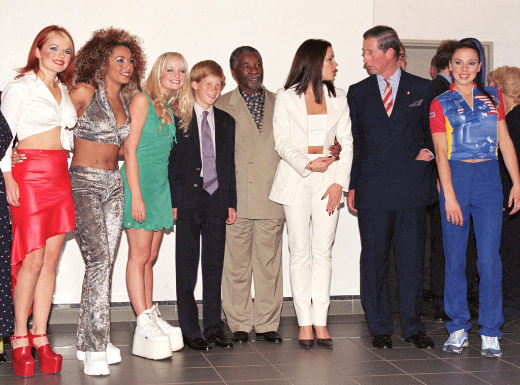 Prince Harry, Prince Charles, Spice Girls, 1997