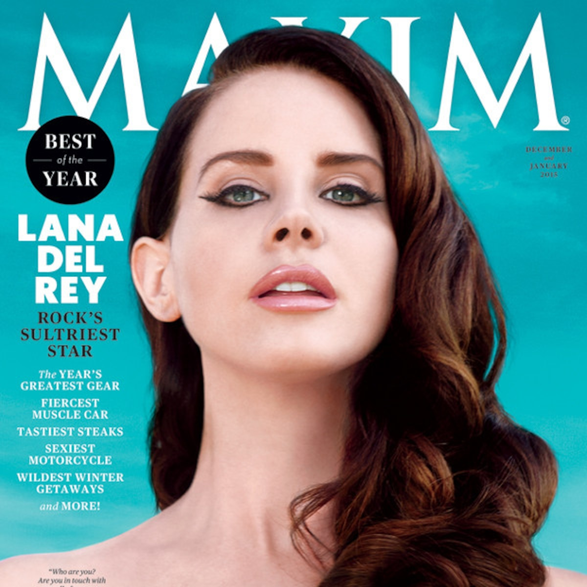 Lana Del Rey Strips For Maxim Cover See The Sexy Pics E Online Au