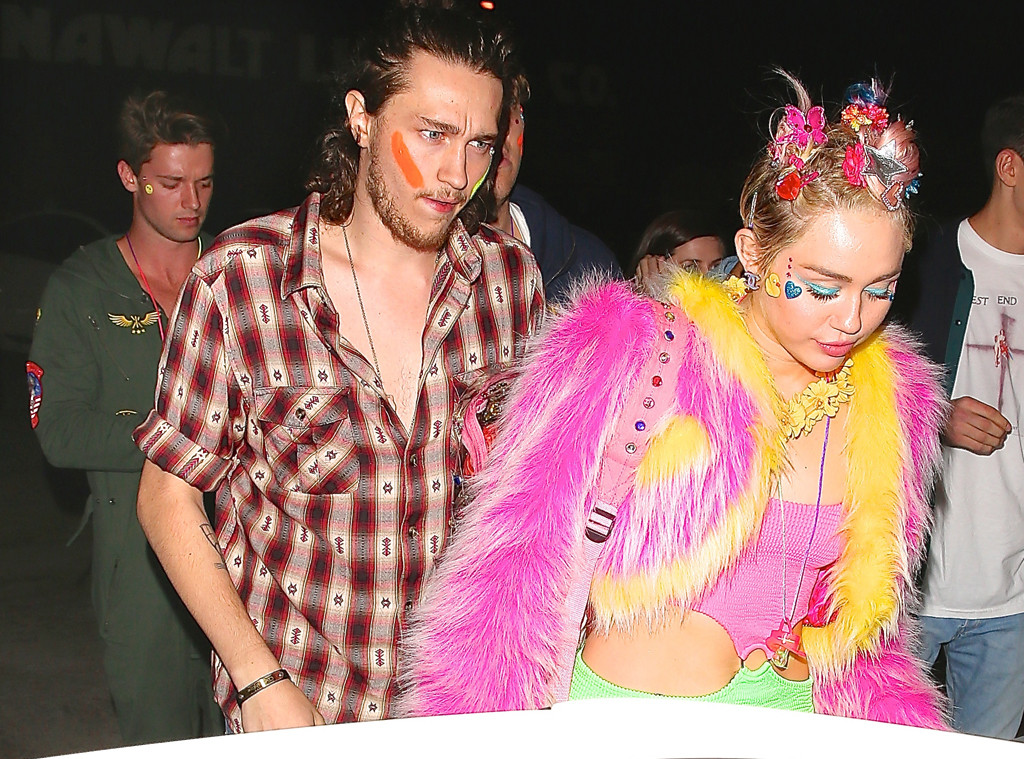 Miley Cyrus Celebrates 22nd Birthday With Patrick Schwarzenegger