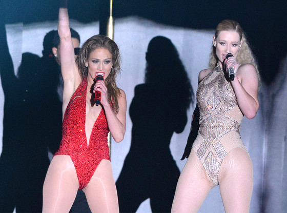Iggy Azalea, Jennifer Lopez, American Music Awards 2014