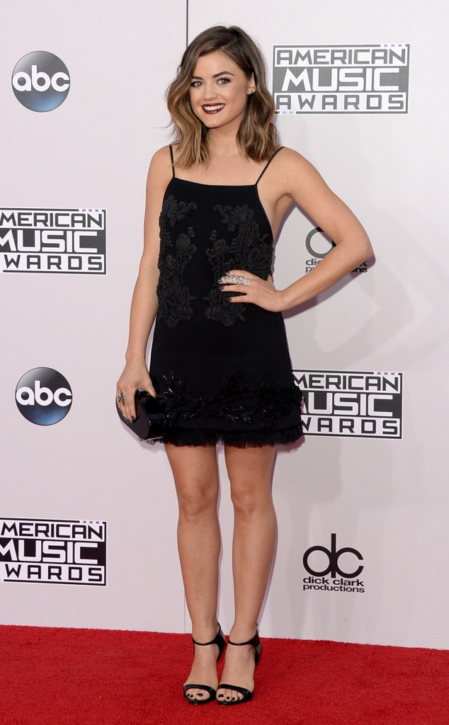 Lucy Hale, American Music Awards 2014