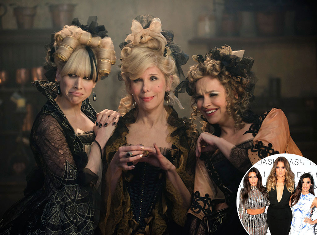 Into the Woods, Kim Kardashian, Khloe Kardashian, Kourtney Kardashian