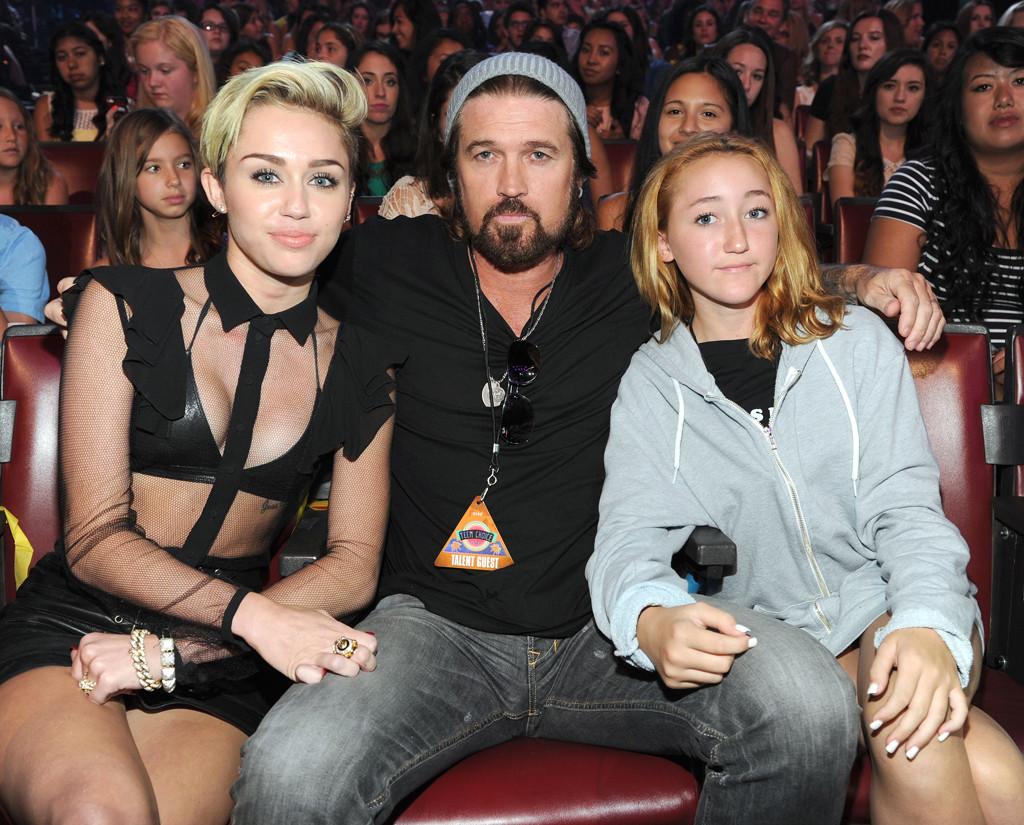 Noah Cyrus, Miley Cyrus, Billy Ray Cyrus