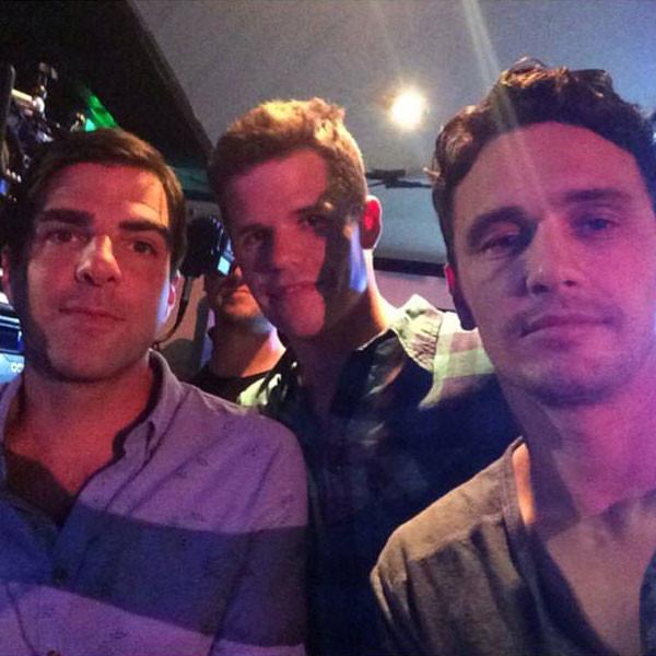 James Franco, Zachary Quinto, Charlie Carter