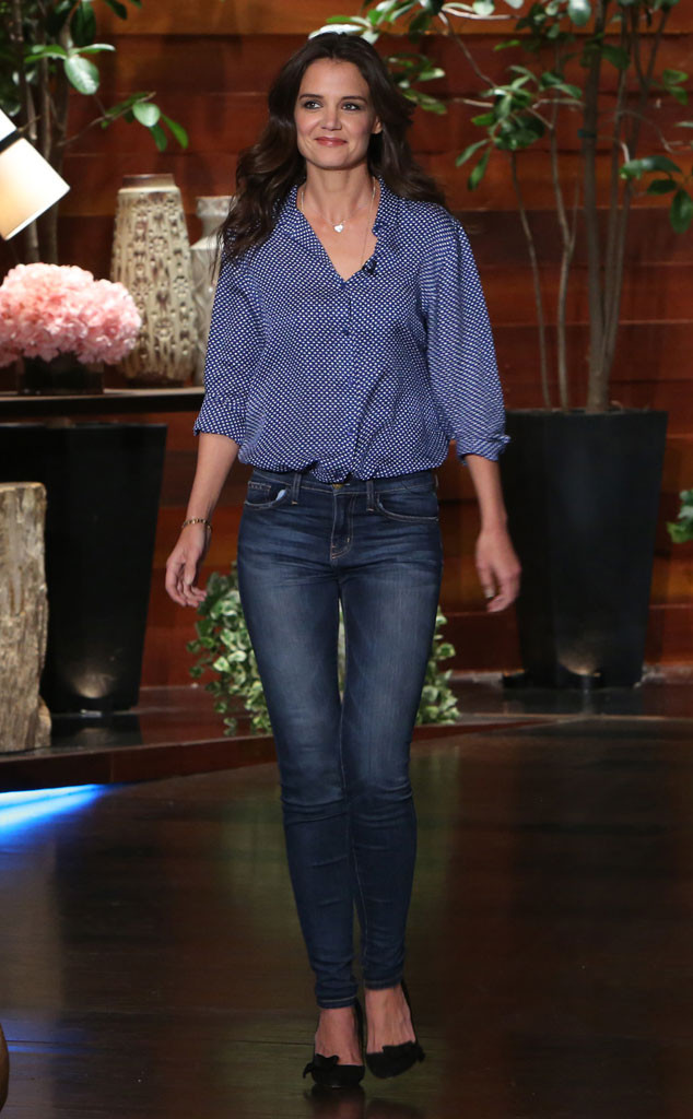 Katie Holmes, Ellen Show
