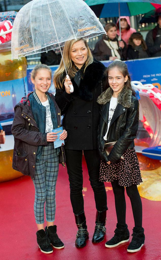 Kate Moss,  Lila Grace, Paddington Premiere