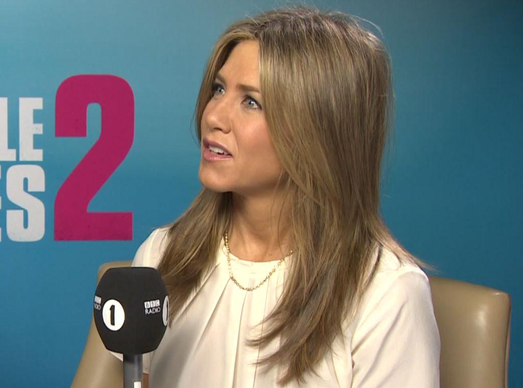 Jennifer Aniston, Interview Prank