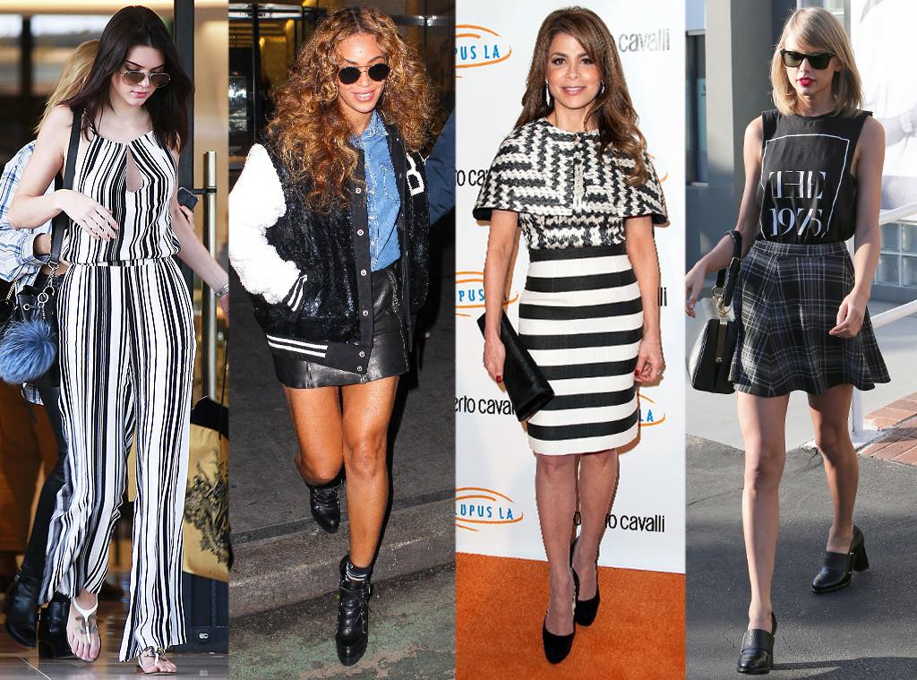 Beyonce, Kendall Jenner, Paula Abdul, Taylor Swift, Trend Tracker