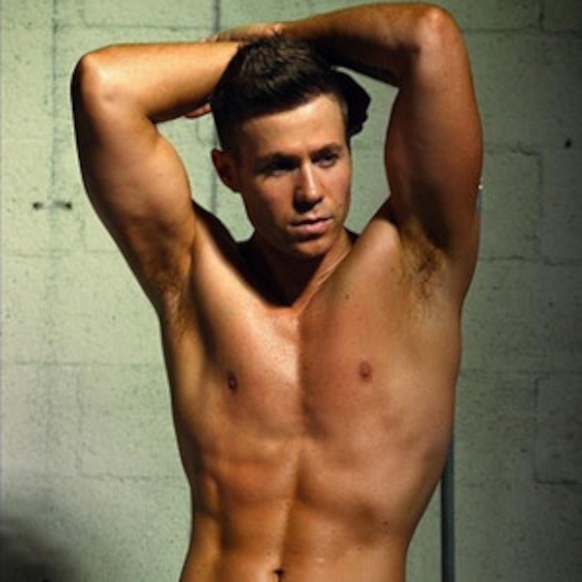 Angel Parker Naked ashley parker angel shows off butt crack in sexy shirtless
