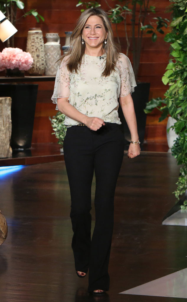 Jennifer Aniston, Ellen Degeneres, Ellen Show