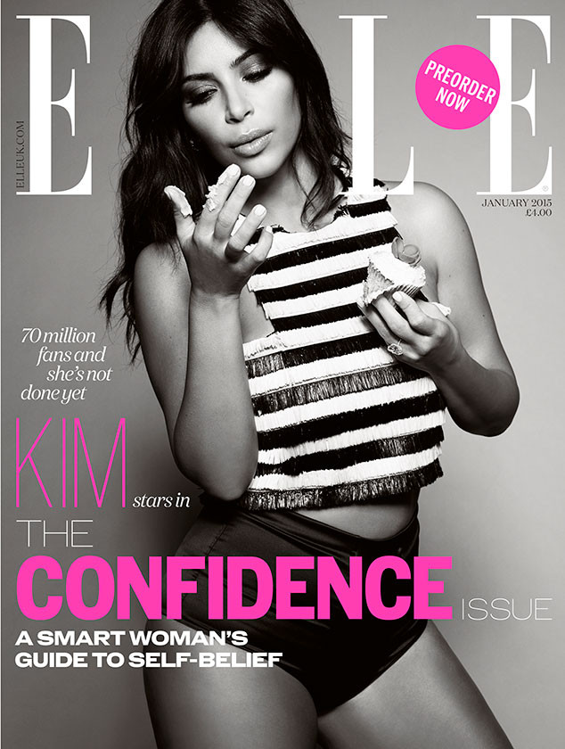 Kim Kardashian, ELLE