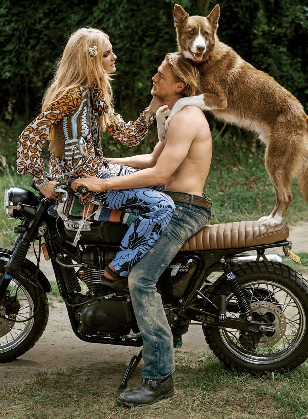 Charlie Hunnam, Vogue
