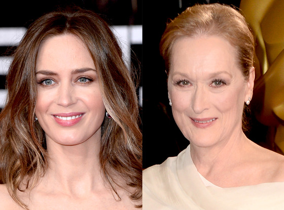 Emily Blunt, Meryl Streep