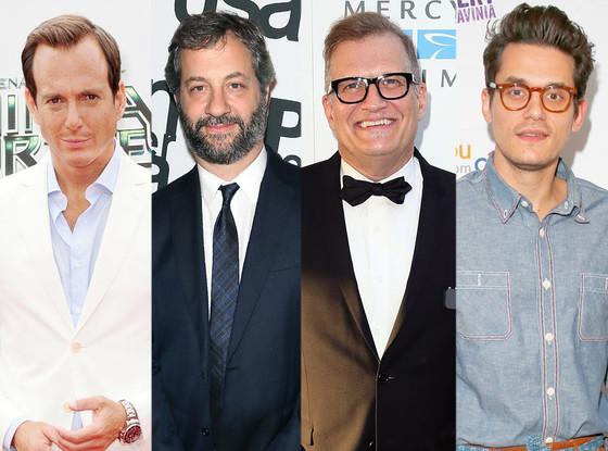 Will Arnett, Judd Apatow, Drew Carey, John Mayer