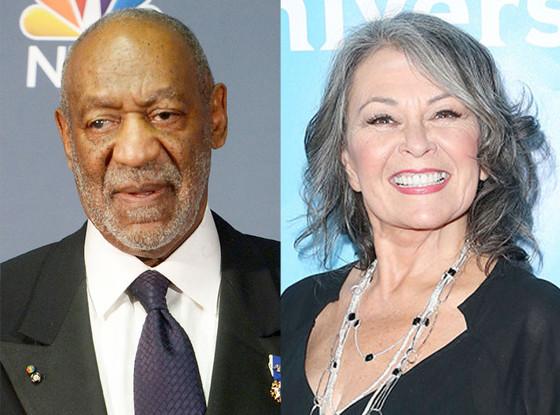 Bill Cosby, Roseanne Barr
