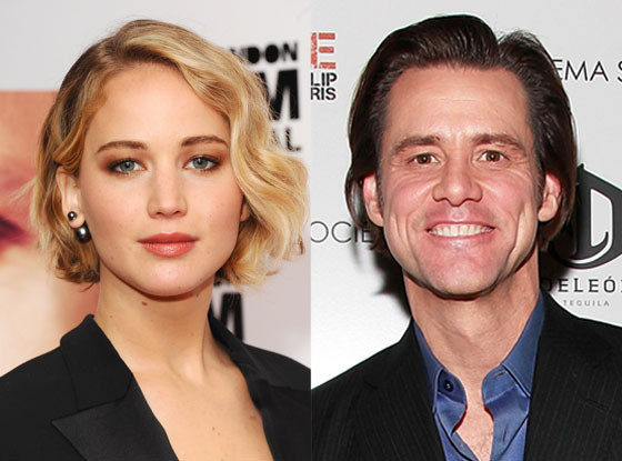 Jennifer Lawrence, Jim Carrey
