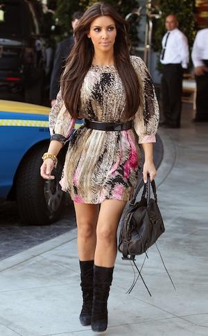 Kim Kardashian, DVF