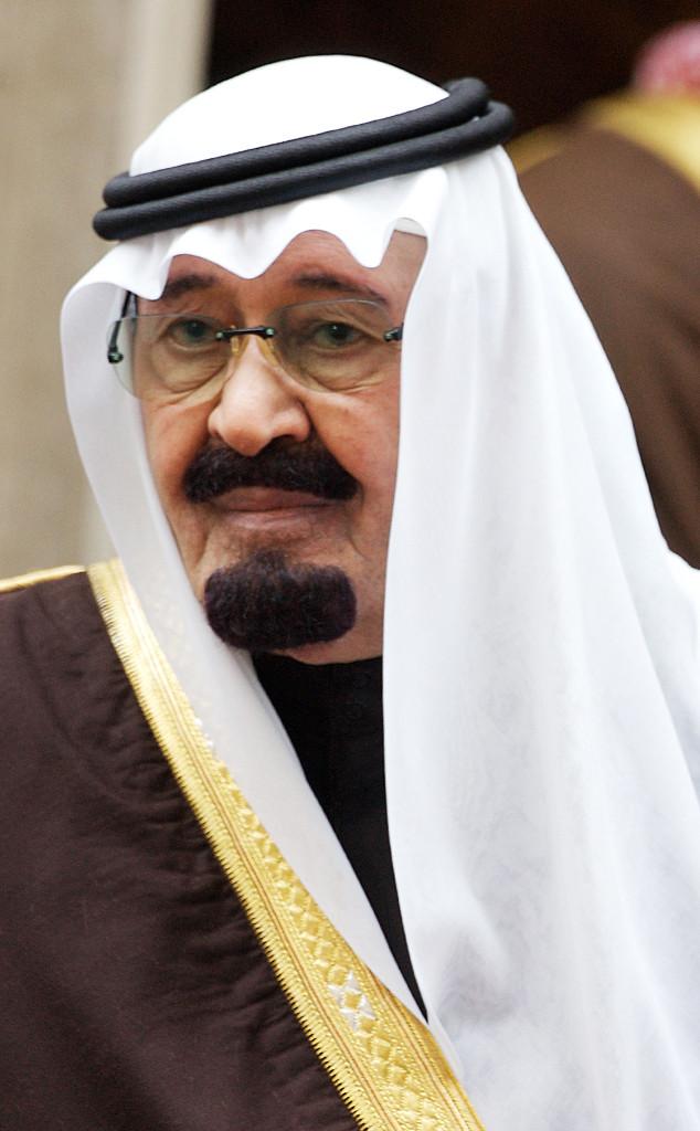 King of Saudi Arabia, King Abdullah Bin Abdul-Aziz