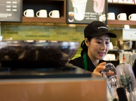 Starbucks, Barista