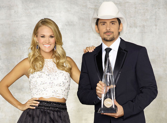 Carrie Underwood, Brad Paisley, CMA Promo