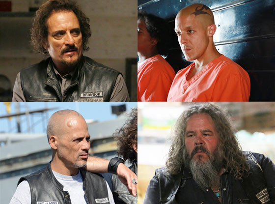 Sons of Anarchy, Mark Boone Junior, Theo Rossi, Kim Coates, David Labrava