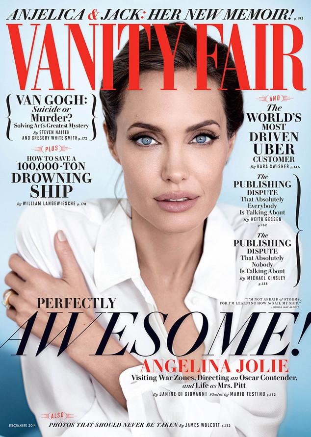 Angelina Jolie, Vanity Fair