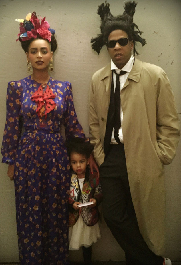 Beyonce, Blue Ivy, Jay Z, Halloween