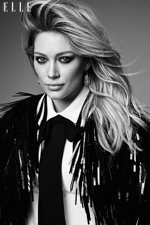 Hilary Duff, Elle Canada