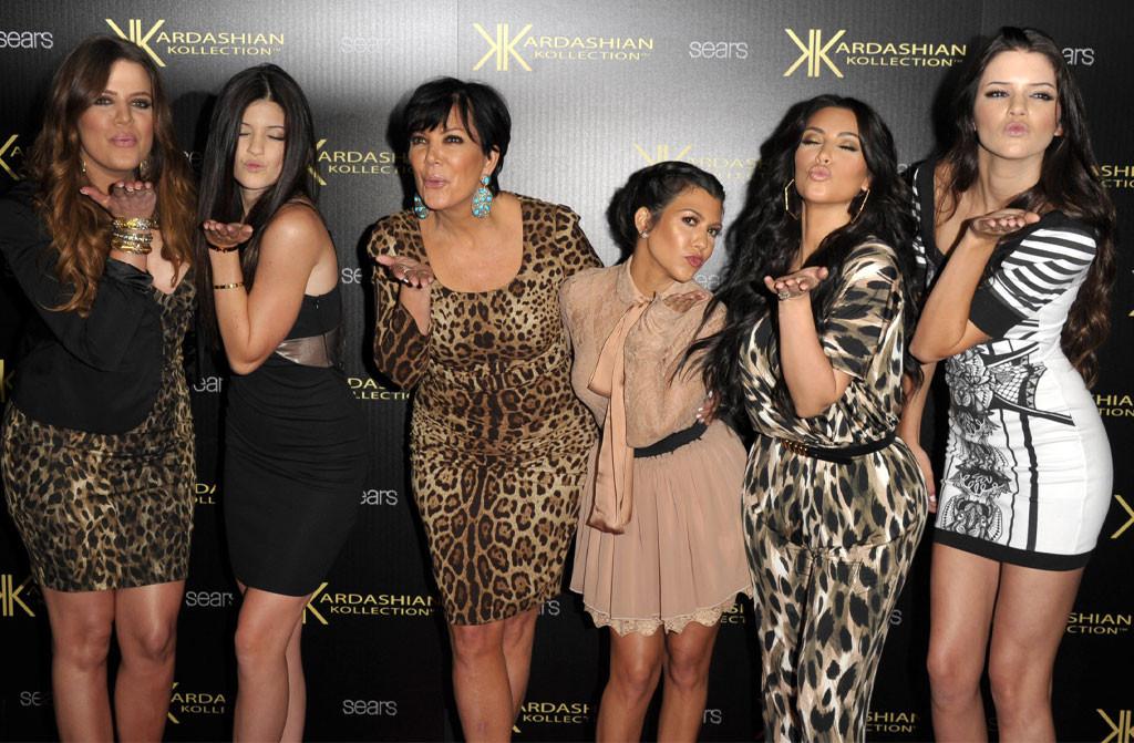 Kardashian Kollection, Khloe Kardashian, Kylie Jenner, Kris Jenner, Kourtney Kardashian, Kim Kardashian, Kendall Jenner