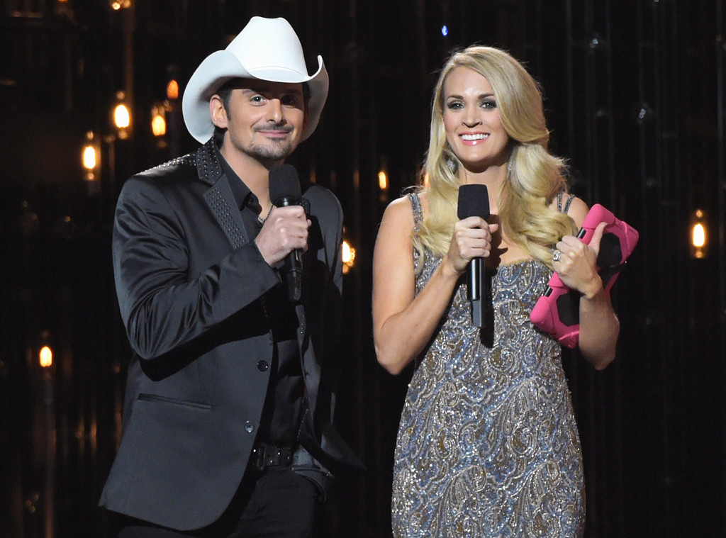 Carrie Underwood, Brad Paisley, CMA