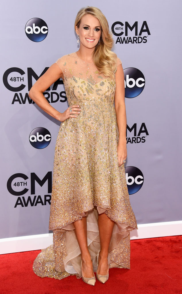 Carrie Underwood, CMA Style, 2014