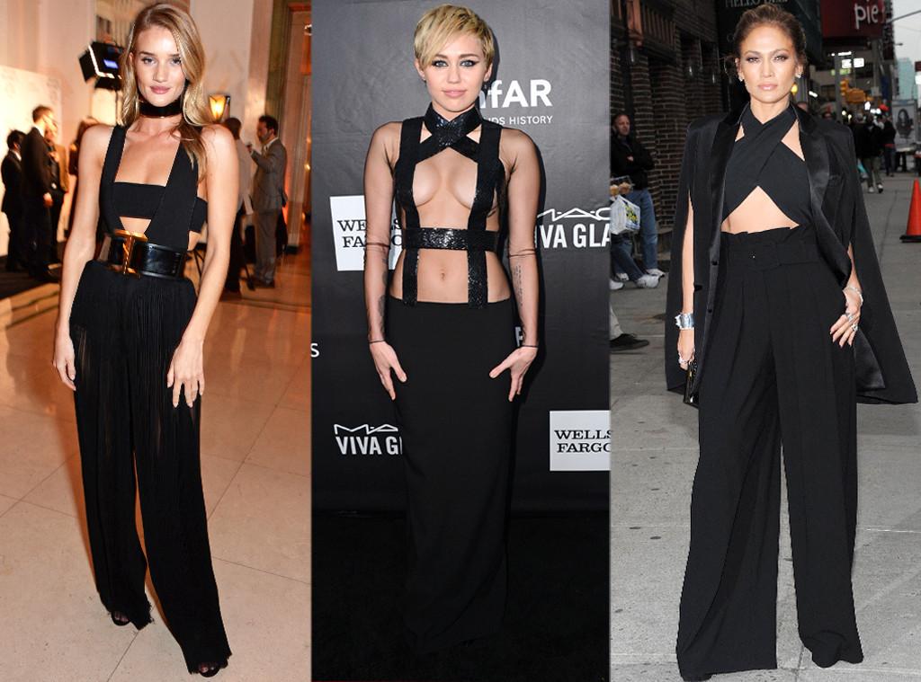 Jennifer Lopez, Miley Cyrus, Rosie Huntington-Whiteley, Trend Tracker